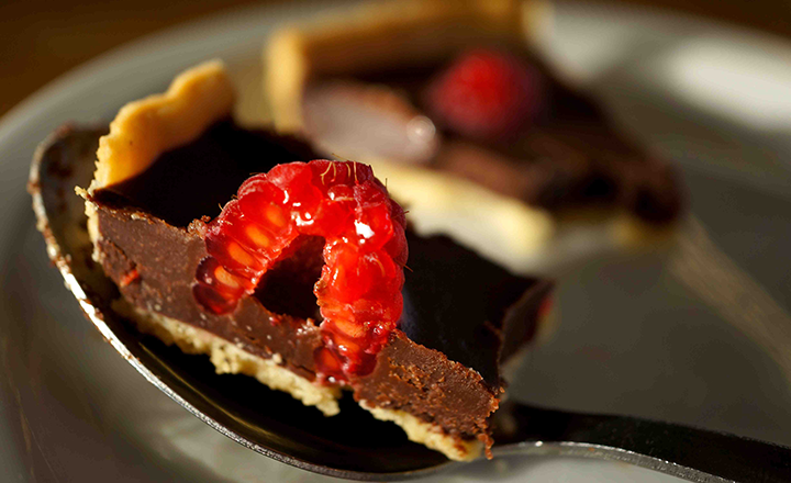 Chocolate & Raspberry Tart – something luscious for your Valentine?